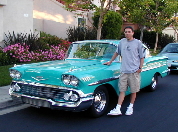 1958 Chevy BelAir 2-doorhard-top coupe: